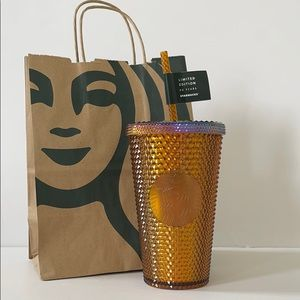 NWT copper studded limited edition Starbucks cup